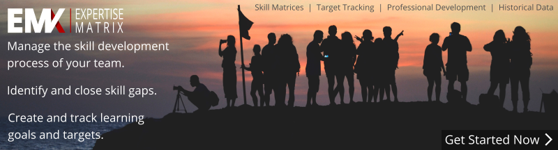 Expertise Matrix - Manage the skill development process of your team.