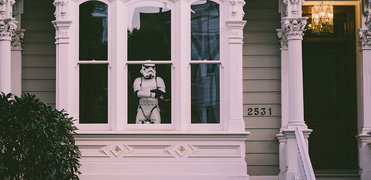 Storm Trooper Guarding House - HTTP Security