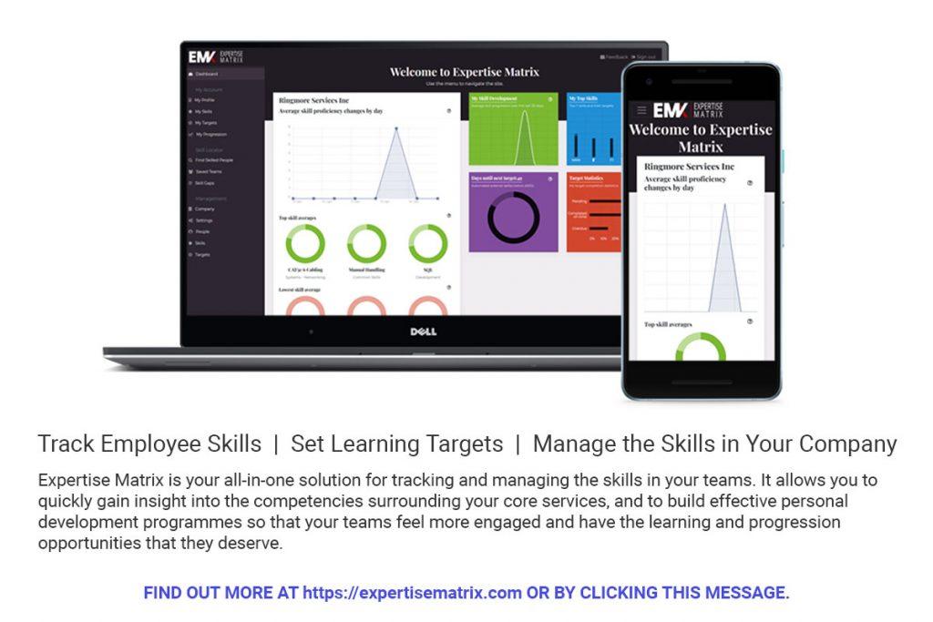 Expertise Matrix - Employee Skills Tracker