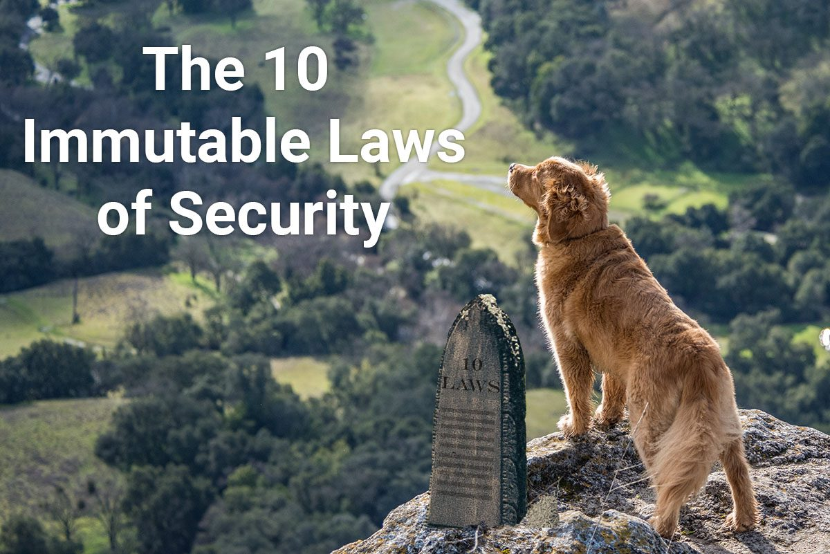 The 10 Immutable Laws of Security