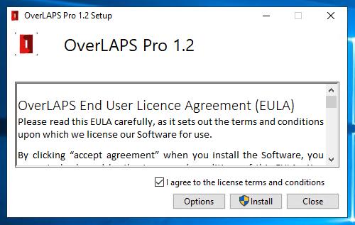 OVERLAPS Pro 1.2 EULA