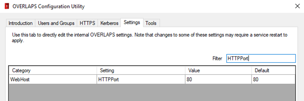 Modifying the HTTP Port