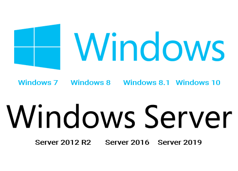 Supported on all versions of Windows from 7 and Server 2012R2 up.